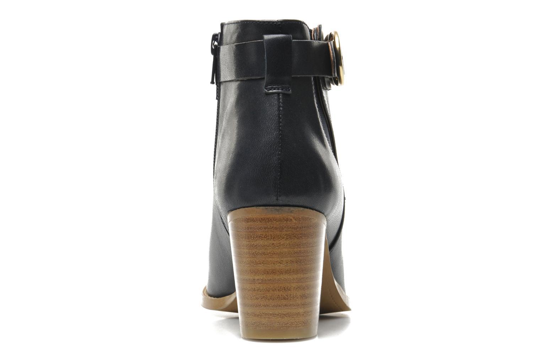 Bottines et boots Georgia Rose Eperdrix Bleu vue droite