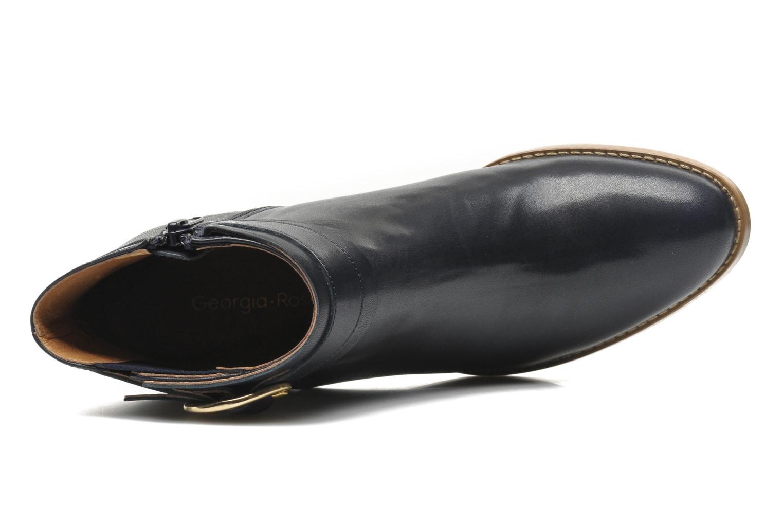 Bottines et boots Georgia Rose Eperdrix Bleu vue gauche