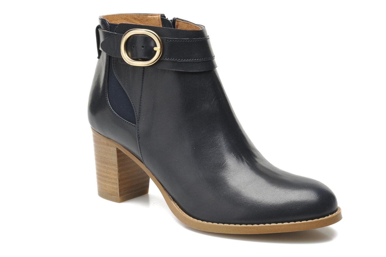 Bottines et boots Georgia Rose Eperdrix Bleu vue détail/paire
