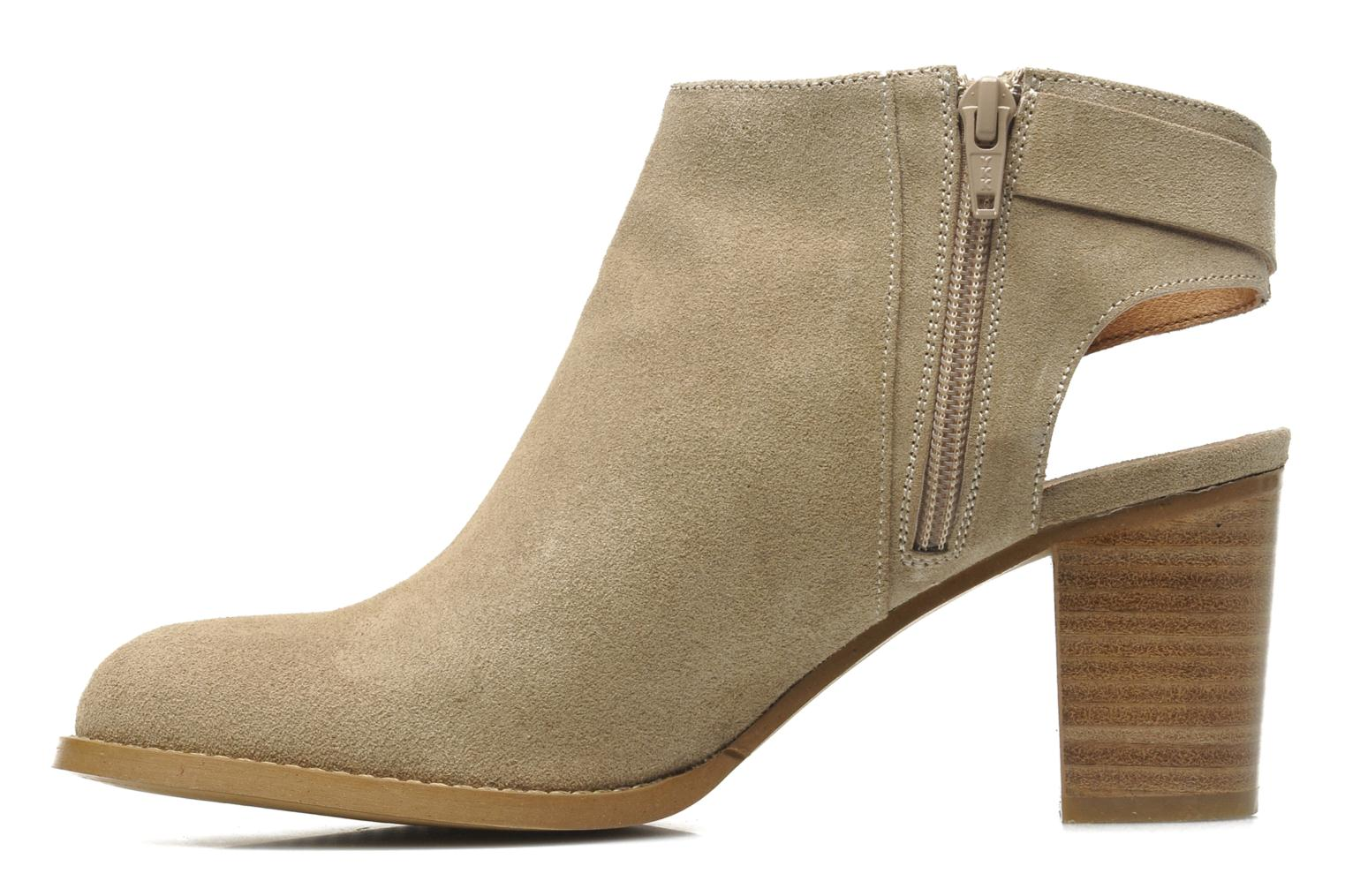 Ankle boots Georgia Rose Efaisan Beige front view