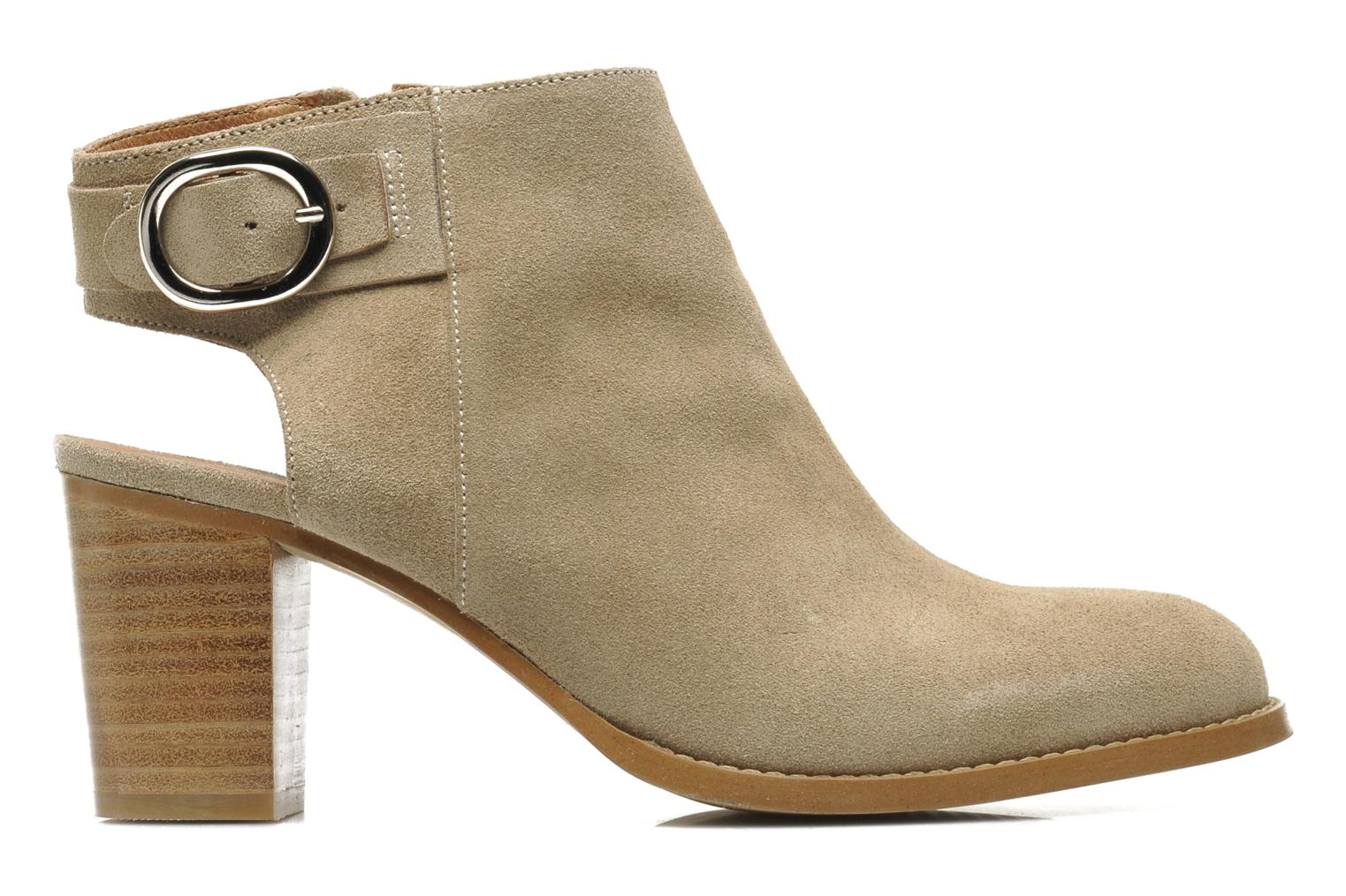 Ankle boots Georgia Rose Efaisan Beige back view