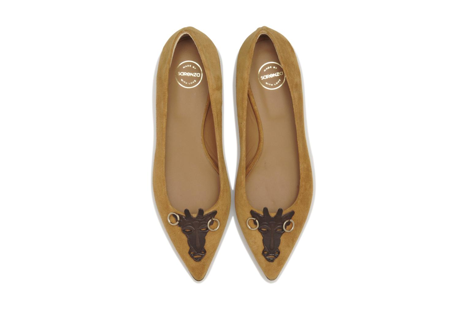Ballet pumps Made by SARENZA Cape Town #10 Brown model view
