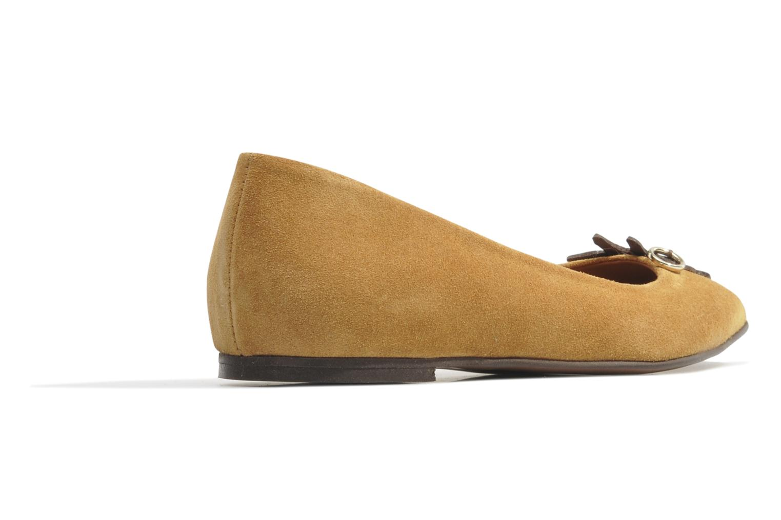 Ballet pumps Made by SARENZA Cape Town #10 Brown front view