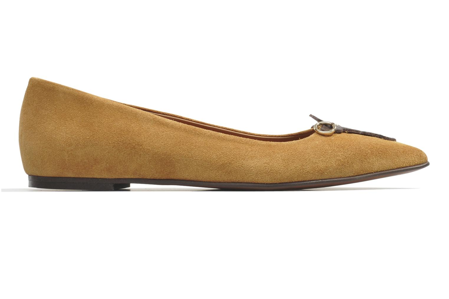 Ballet pumps Made by SARENZA Cape Town #10 Brown view from the right