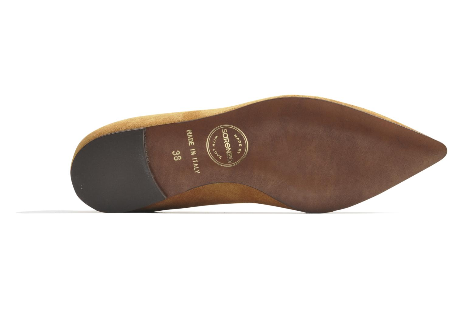 Ballet pumps Made by SARENZA Cape Town #10 Brown view from the left