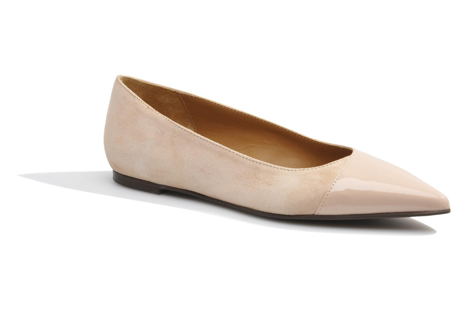Ballet pumps Made by SARENZA Roudoudou #14 Beige view from the right
