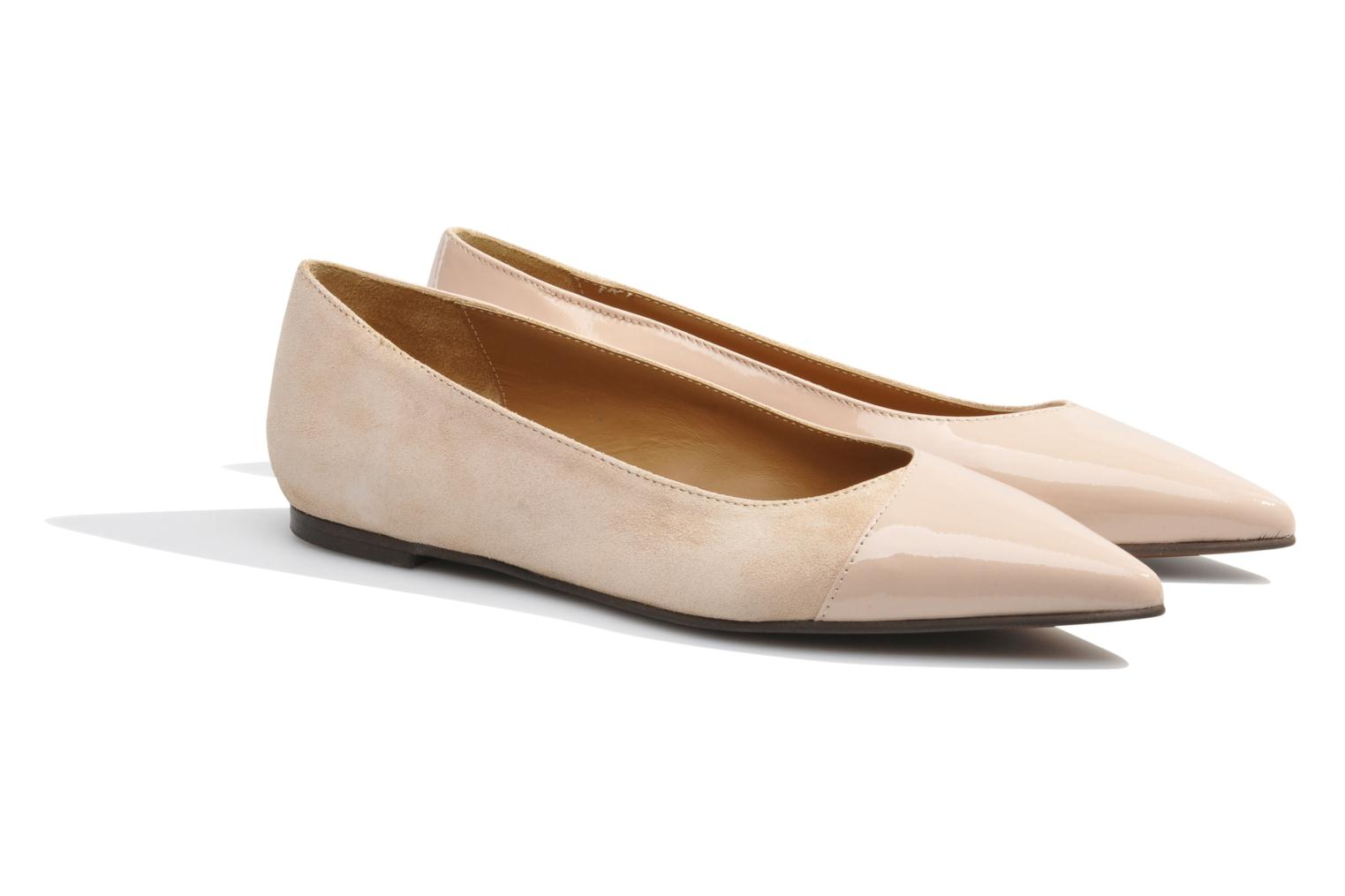 Ballet pumps Made by SARENZA Roudoudou #14 Beige back view