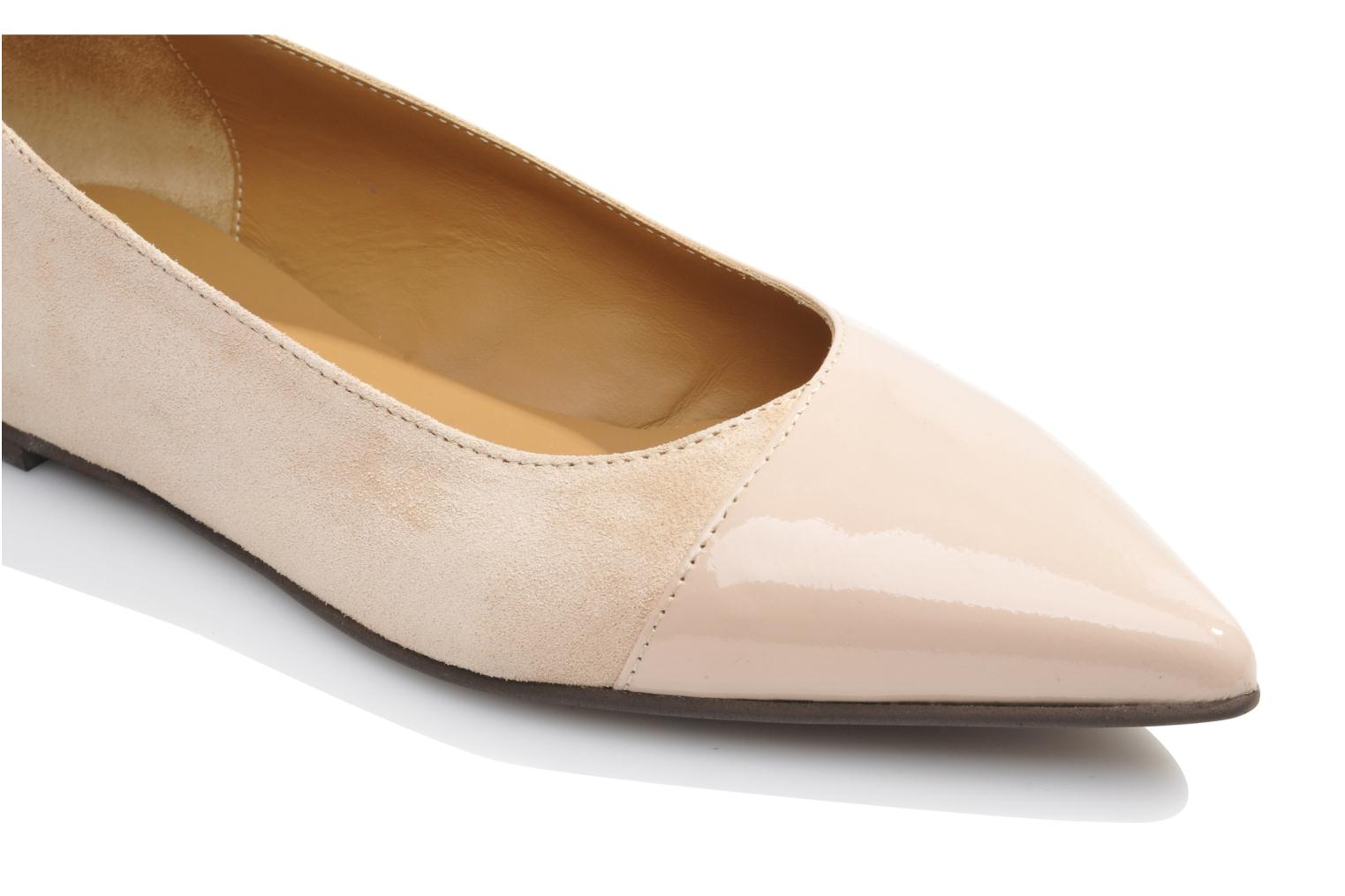 Ballet pumps Made by SARENZA Roudoudou #14 Beige view from above