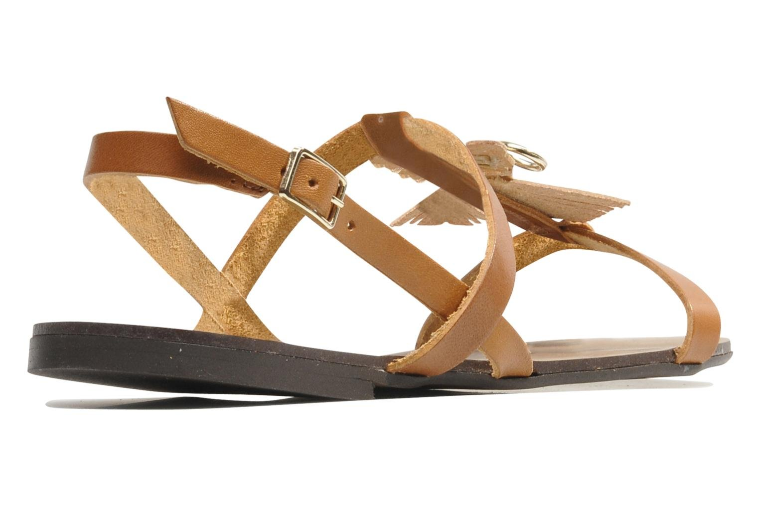 Sandals Made by SARENZA Nairobi #5 Brown front view