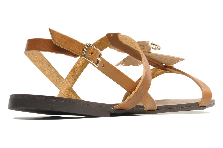 Sandales et nu-pieds Made by SARENZA Nairobi #5 Marron vue face