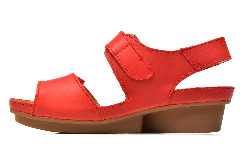 Sandales et nu-pieds El Naturalista Code ND20 Rouge vue face