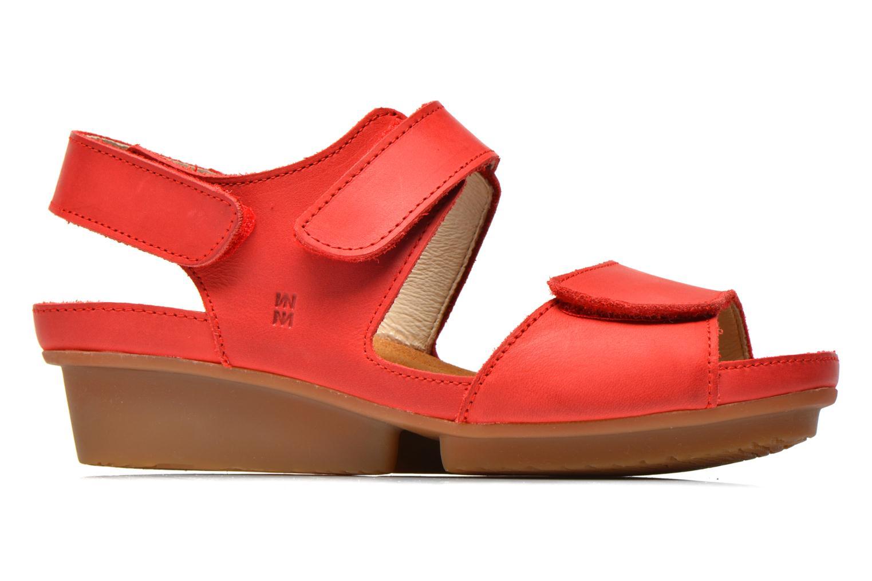 Sandales et nu-pieds El Naturalista Code ND20 Rouge vue derrière