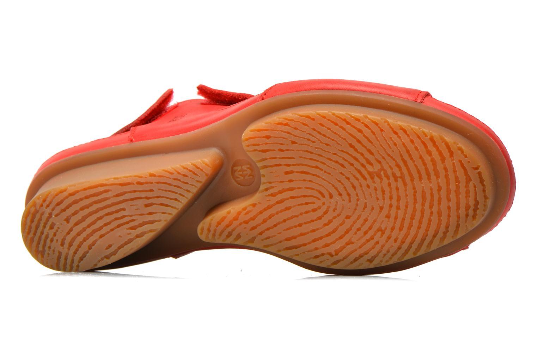 Sandales et nu-pieds El Naturalista Code ND20 Rouge vue haut