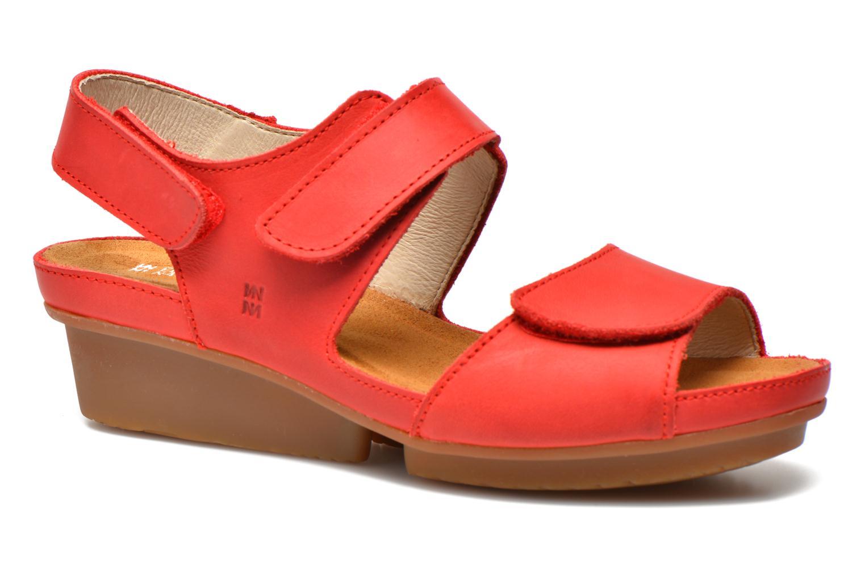 Sandales et nu-pieds El Naturalista Code ND20 Rouge vue détail/paire