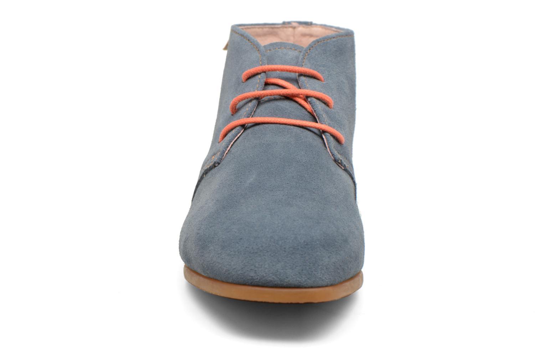 Chaussures à lacets El Naturalista Croche N949 Bleu vue portées chaussures