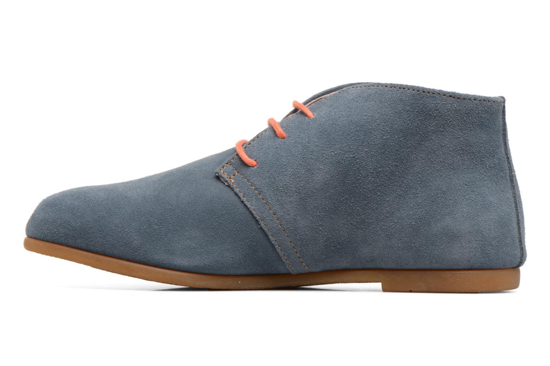 Chaussures à lacets El Naturalista Croche N949 Bleu vue face
