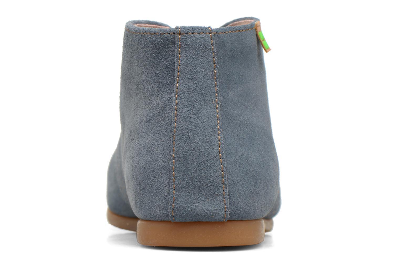 Chaussures à lacets El Naturalista Croche N949 Bleu vue droite