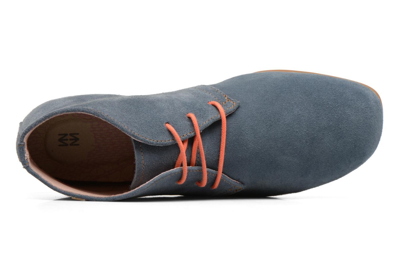 Chaussures à lacets El Naturalista Croche N949 Bleu vue gauche