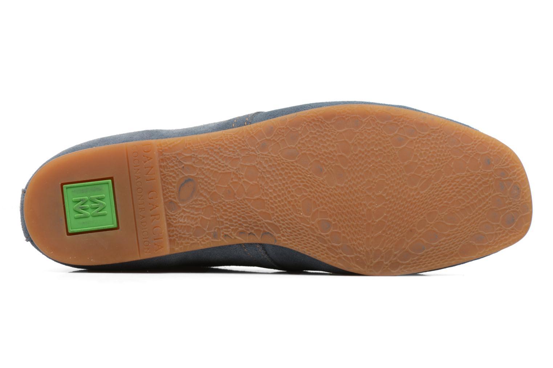 Chaussures à lacets El Naturalista Croche N949 Bleu vue haut