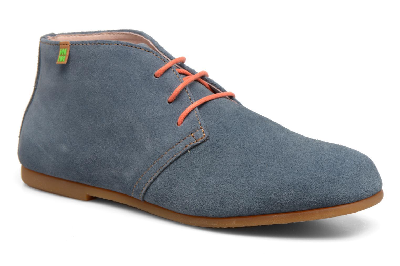 Chaussures à lacets El Naturalista Croche N949 Bleu vue détail/paire