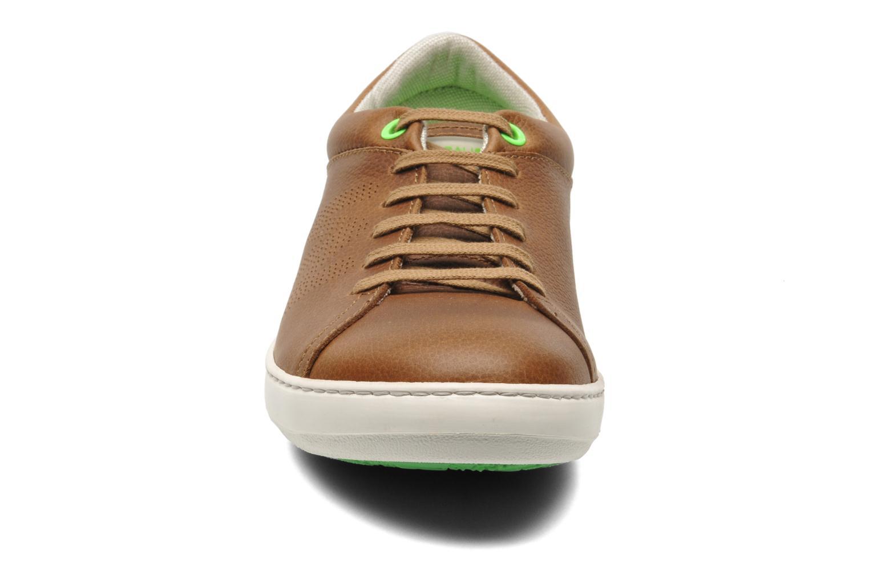 Baskets El Naturalista Meteo N206 Marron vue portées chaussures