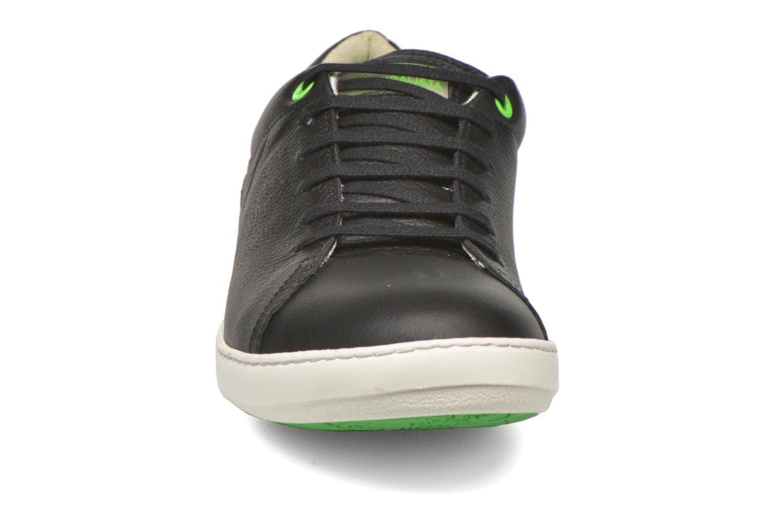Baskets El Naturalista Meteo N206 Noir vue portées chaussures