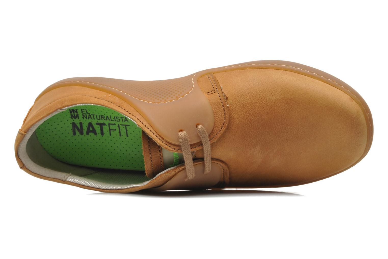 Chaussures à lacets El Naturalista Wave NC81 Marron vue gauche