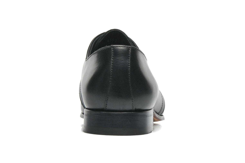 Zapatos con cordones Marvin&Co Pourlavie Negro vista lateral derecha