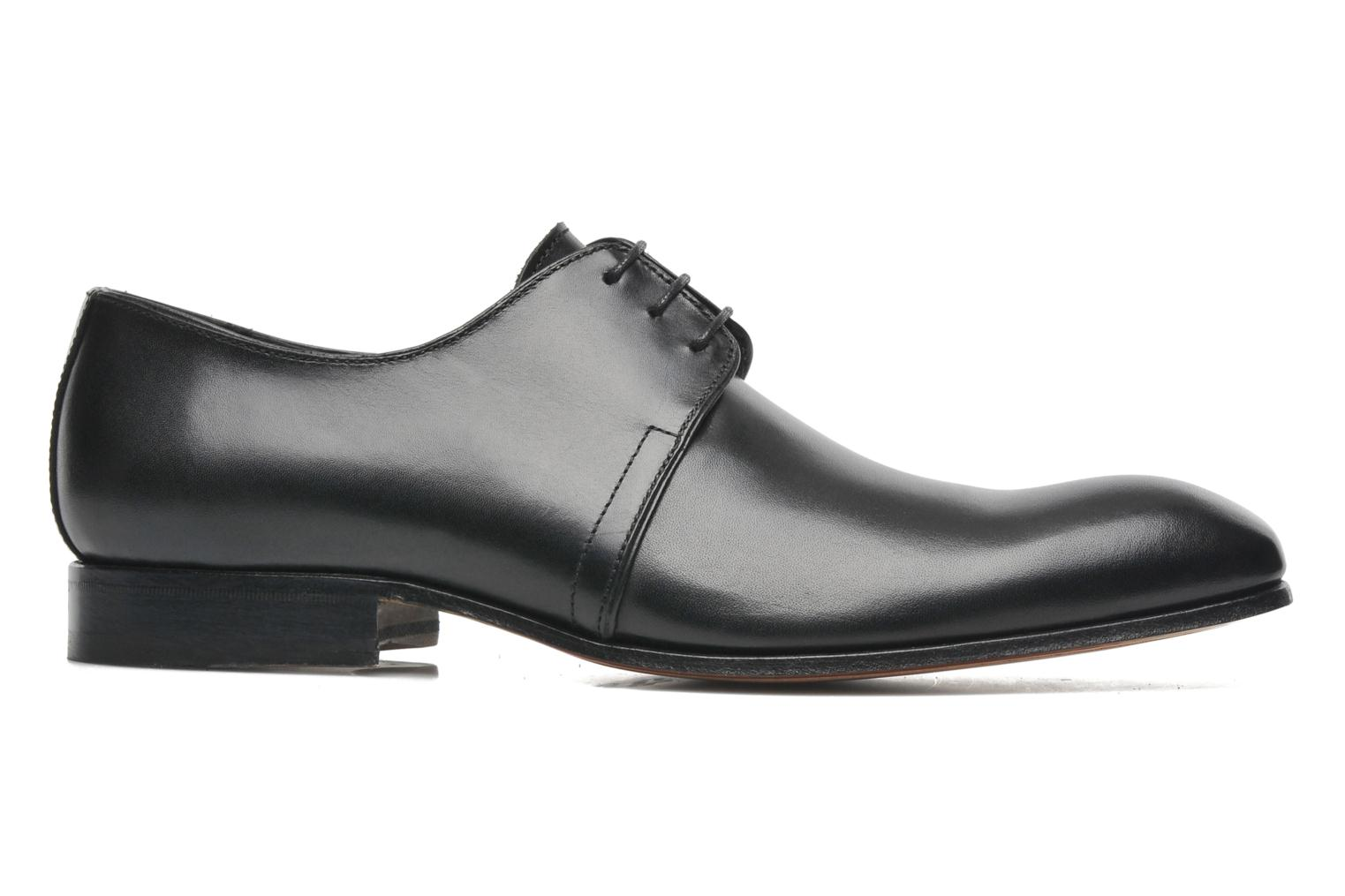 Zapatos con cordones Marvin&Co Pourlavie Negro vistra trasera