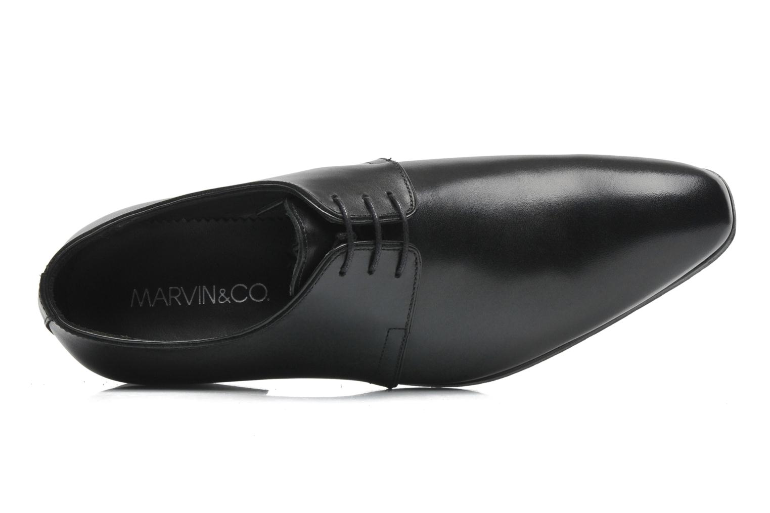 Zapatos con cordones Marvin&Co Pourlavie Negro vista lateral izquierda