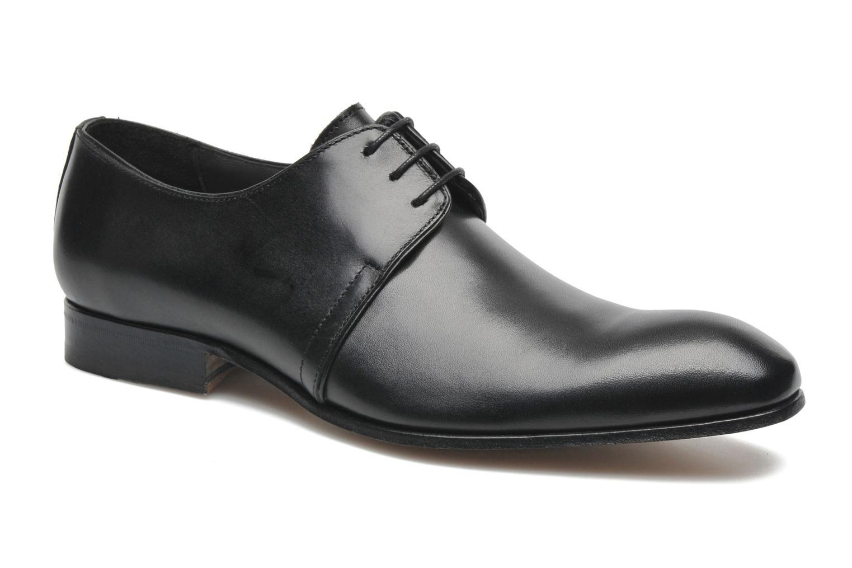 Chaussures à lacets Marvin&Co Pourlavie Noir vue détail/paire