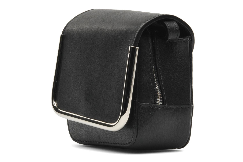 Handbags Carven SAINT SULPICE Mini boîte Black view from the right