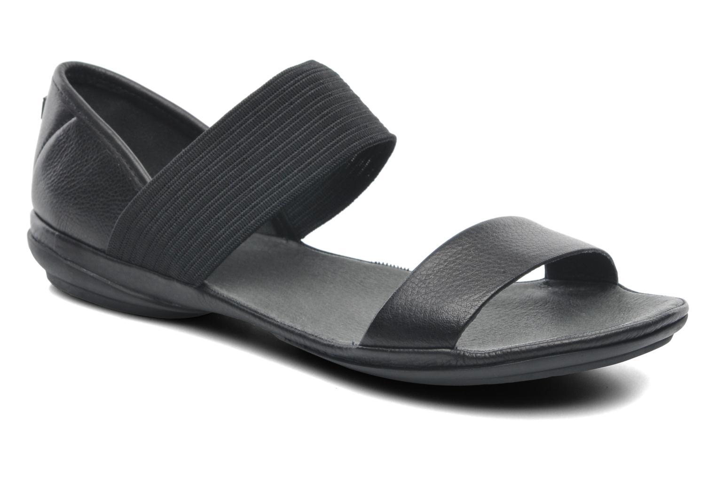 Sandales et nu-pieds Camper Right Nina 21735 Noir vue détail/paire