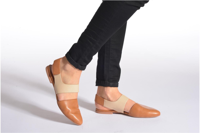 Sandales et nu-pieds Camper Isadora 22561 Beige vue bas / vue portée sac