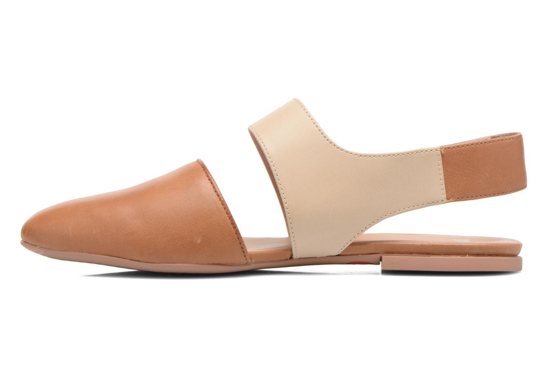 Sandales et nu-pieds Camper Isadora 22561 Beige vue face