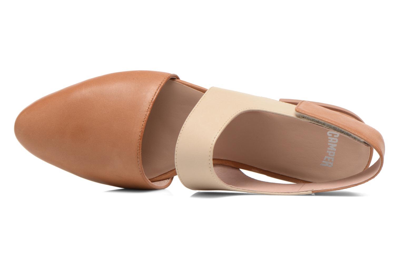 Sandales et nu-pieds Camper Isadora 22561 Beige vue gauche