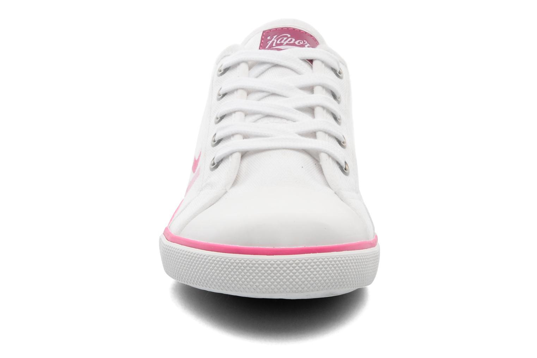 Baskets Kaporal Snap Blanc vue portées chaussures