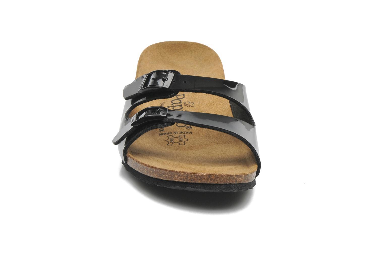 Mules et sabots Papillio Anne Noir vue portées chaussures