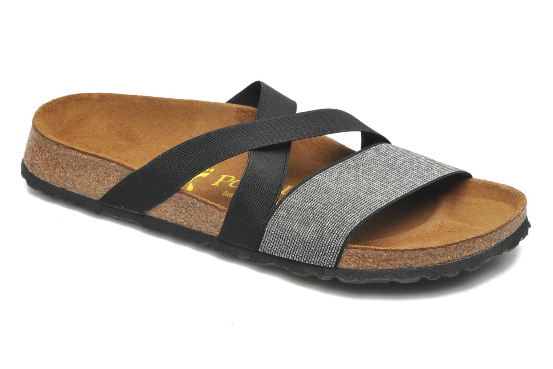 Clogs & Pantoletten Papillio Cosma Textile schwarz detaillierte ansicht/modell
