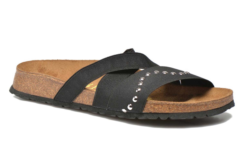 Mules & clogs Papillio Cosma Textile Black detailed view/ Pair view