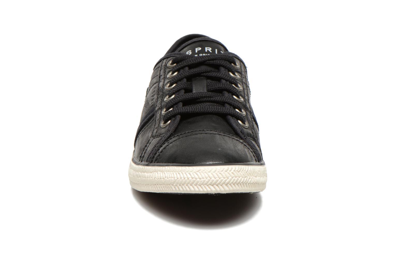 Sneakers Esprit Megan Lace Up 004 Zwart model