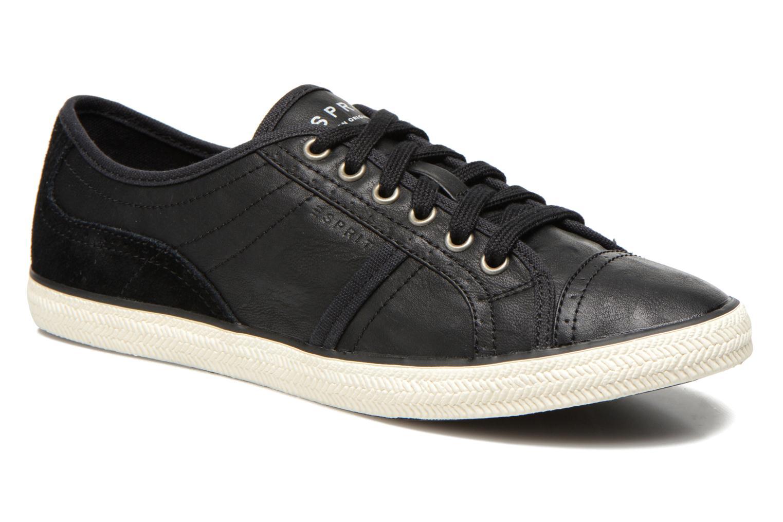Sneakers Esprit Megan Lace Up 004 Zwart detail