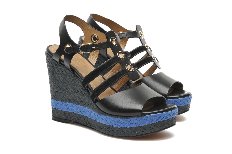 Sandales et nu-pieds Sonia Rykiel Izane Noir vue 3/4