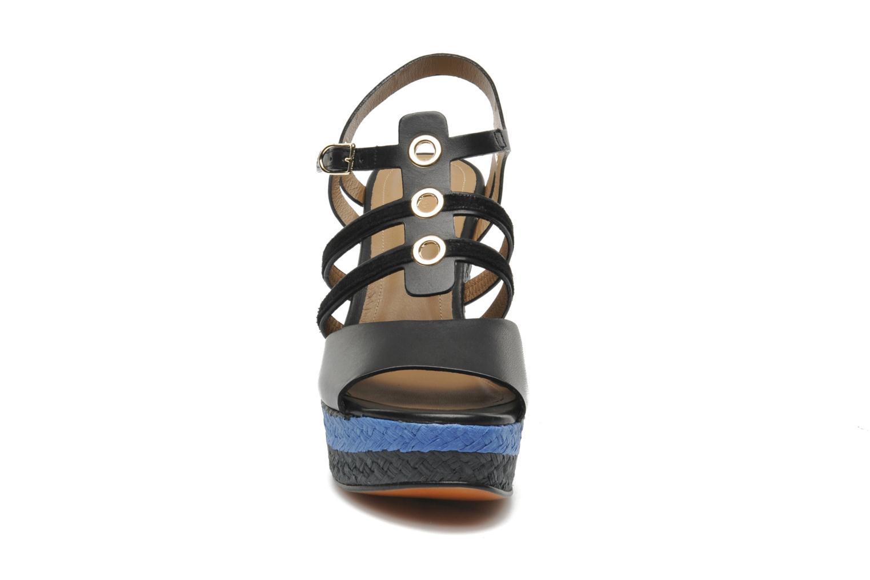 Sandales et nu-pieds Sonia Rykiel Izane Noir vue portées chaussures