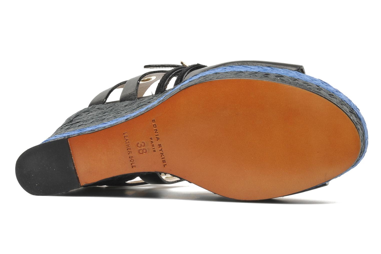 Sandales et nu-pieds Sonia Rykiel Izane Noir vue haut