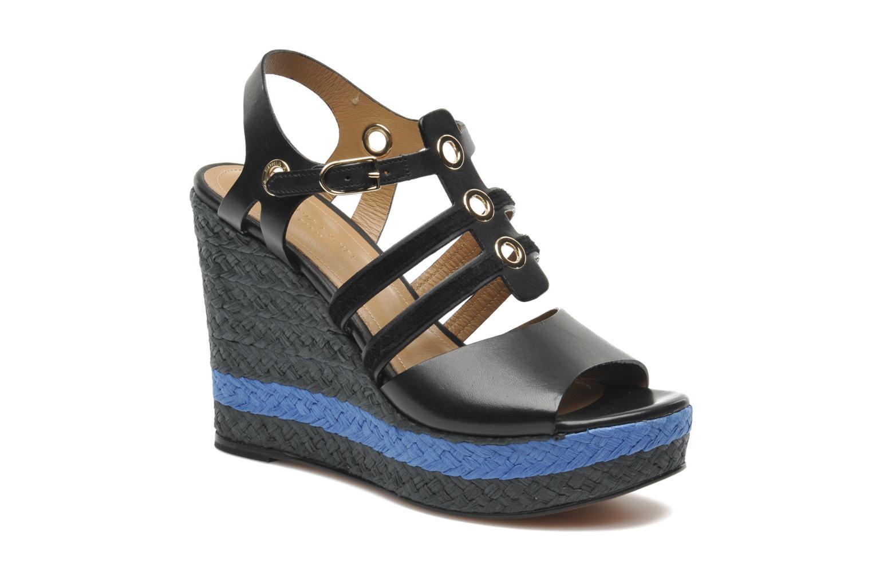 Sandales et nu-pieds Sonia Rykiel Izane Noir vue détail/paire