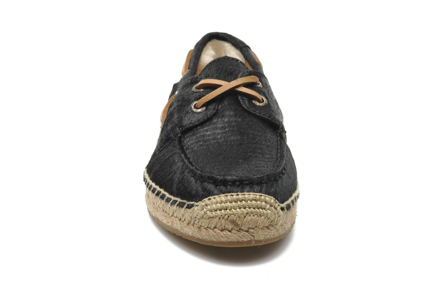 Espadrilles UGG Corris Calf Hair Scales Zwart model