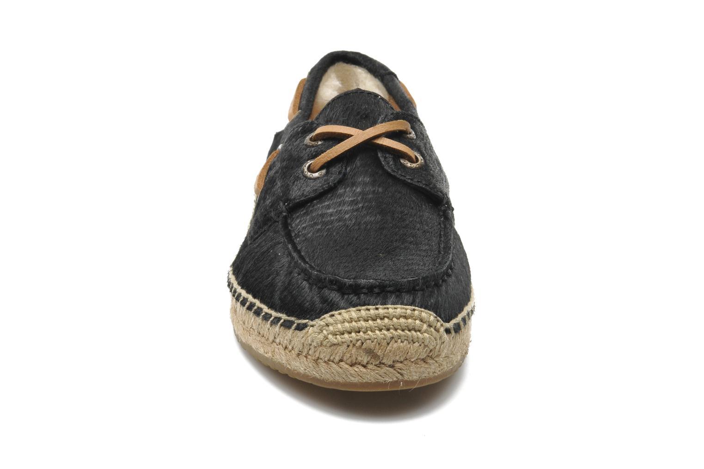 Espadrilles UGG Corris Calf Hair Scales Noir vue portées chaussures