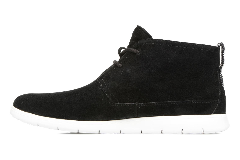 Chaussures à lacets UGG Freamon Noir vue face