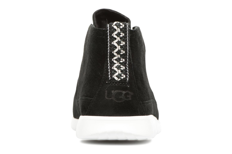 Chaussures à lacets UGG Freamon Noir vue droite